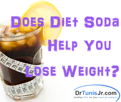 does diet soda help you lose weight