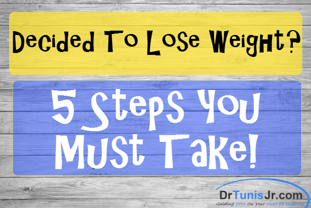 5 weight loss steps